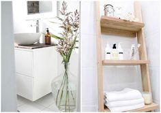 baño con lavadora integrada : via MIBLOG  Bath..  Pinterest