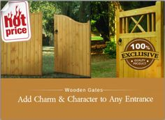 Gate Images, Charmed Characters, Wooden Gates, Entrance, Outdoor Decor, Home Decor, Wood Gates, Entryway, Decoration Home