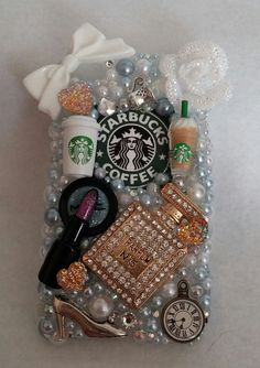 Starbucks Coffee Make Up Essentials Samsung by ExpressiveCases