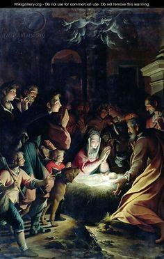 Adoration of the Shepherds - Camillo Procaccini