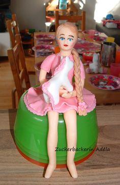 Prinzessin Fiona mit einem Ponny :-)
