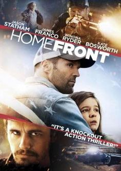 Homefront   Former drug enforcement agent Phil Broker is a family man who moves off the grid with his daughter to a seemingly quiet bayou backwater to escape his troubled past. However, Broker's world soon becomes anything but quiet once he discovers the town's drug-fueled, violent underbelly. Soon, a methamphetamine kingpin, Gator Bodine, puts Broker and his daughter in harm's way, forcing Broker back into action in order to save his family and the town.