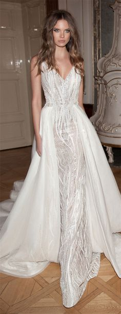 Dream Wedding Dresses Plus Size Berta Bridal Fall 2015 - Wedding Dresses with Detachable Skirts 2015 Wedding Dresses, Bridal Dresses, Wedding Gowns, Wedding Dresses Detachable Skirt, Romantic Wedding Dresses, Wedding Skirt, Dresses 2016, Dresses Dresses, Bridal Gown