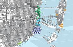 Miami's 50-Plus Condos Under Construction in 2015, Mapped. #Miami #realestate