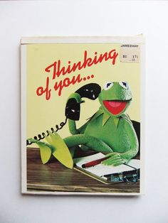 Vintage 1977 Jim Henson's Muppets Kermit the Frog by michiegoodsny