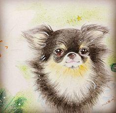 83件チワワart おすすめ画像 2018 Chihuahua Artanimal Drawings