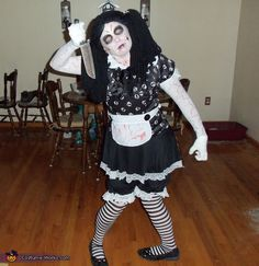 Living Dead Doll - DIY Halloween Costume