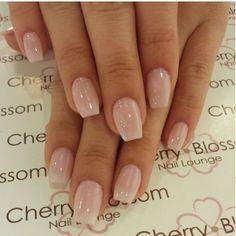 Nice n simple nude nails