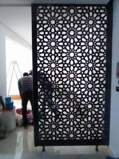 Living Room Partition Design, Room Partition Designs, Tv Wall Design, Sofa Design, Partition Walls, Modern Window Grill, Divider Design, Bedroom Bed Design, House Plants Decor