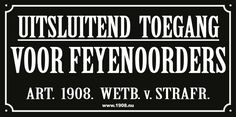 Feyenoord is my life op facebook