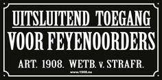 Feyenoord is my life op facebook