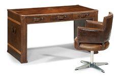 Flexsteel Furniture: Desks: WhiskeyDesk & Swivel Chair (6712-051-11)