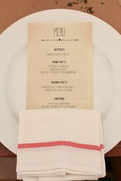 Wedding menu by GoodLifeEventi on Etsy