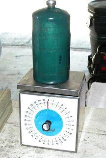 --- Living Prepared ---: Refilling 1 lb. Propane Cylinders