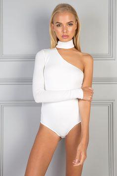 PARIS BODYSUIT – WHITE