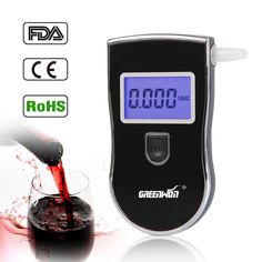 Hot sale!!2015 Prefessional Police Digital Breath Alcohol Testers Breathalyzers Alcohol Meter Freeshipping Dropshipping