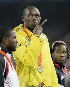 Usain Bolt. World's fastest man
