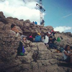 Cima #Vezzena #trentino con ragazzi di Zivignago in vacanza premio! #aigae