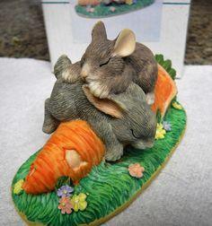 Charming Tails ~ Binkey Rabbit ~ Dean Griff Silvestri Figurine NIB   eBay