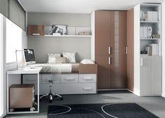 Una decoración muy juvenil en los dormitorios | Decorar tu casa es facilisimo.com