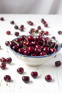 Rich in antioxidants, relieves & prevents arthritis & gout, anti-inflammatory, helps relieve migraines, rich in melatonin, improves sleep, reduces chances of colon cancer, helps lower cholesterol, slows aging process, and improves cardiac rhythm. Cherries are a little red fruit with a powerful health punch!