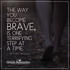 Overcoming fear by Bryant McGill Quotable Quotes, Motivational Quotes, Inspirational Quotes, Me Salve, Quotes To Live By, Life Quotes, No Fear Quotes, Work Quotes, Bryant Mcgill