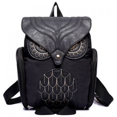 $18.99 Stylish Owl Shape and Solid Color Design Women's Satchel