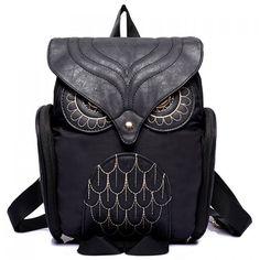 $18.99 Stylish Owl Shape and Solid Color Design Women's Satchel  (1/25/16 - 2 days left)