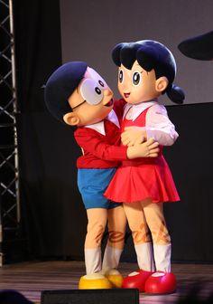 Doraemon Nobita Shizuka Full Hd Doraemon Hd Wallpaper Doraemon Cute Love Cartoons Cute Love Wallpapers Romantic Cartoon Images