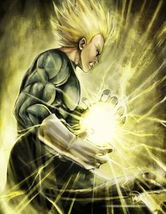 Vegeta Super Saiyan | Dragon Ball