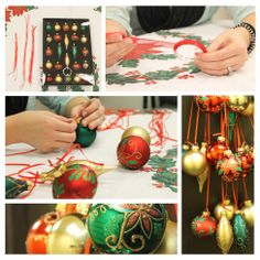 Christmas Ornament Hanger, it's a easy 20 minute project that can be placed anywhere in your home!