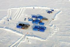 Ultima Thule: Barneo Ice Camp, a russian North Pole seasonal camp and ... marathon !