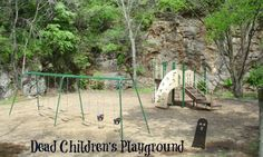 Dead Children's PLayground in Huntsville, AL is a spooky good place to play.