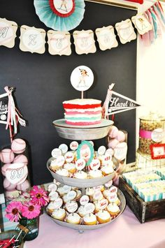 Vintage Baseball Birthday Party Ideas | Photo 6 of 31 | Catch My Party