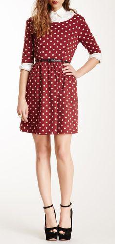 Dot Skater Dress