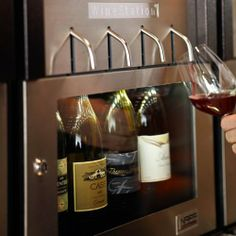 Wine Station... for the serious wine drinker or party hostess.