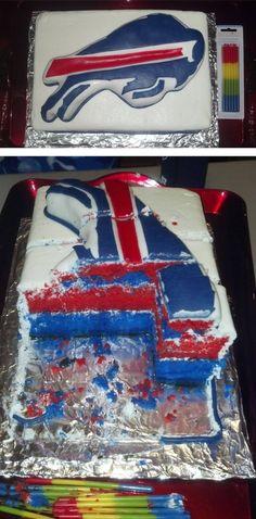 Buffalo Bills Birthday Cake!