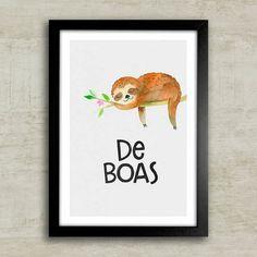 Poster De Boas - Encadreé Posters