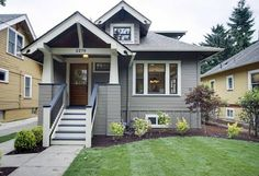 Hawthorne House Remodel - traditional - exterior - portland - TTM Development Company