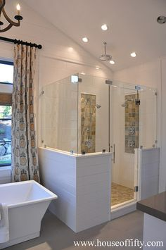 Isabella & Max Rooms: Street of Dreams Portland Style - House 2----Now that's a shower!