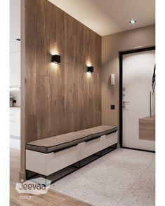 Diy home decor Home Entrance Decor, House Entrance, Entryway Decor, Diy Home Decor, Corridor Design, Hall Design, Flur Design, Appartement Design, Hallway Furniture