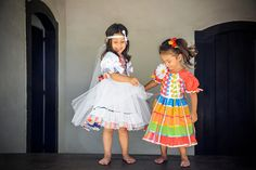 Vestidos Quadrilha Infantil Bicho Brasil -  /    Quadrille Dresses Children Toy Brazil  -
