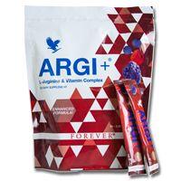 Met ARGI+ kunt u de hele dag doorgaan en levert u optimale prestaties. Argi+ bevat de perfecte mix van het aminozuur L-Arginine en verschillende synergetisch werkende vitamines. Gemengd met voldoende water vormt het de ideale voedzame drank voor sportieve mensen met een hoge spierbelasting. Argi+ geeft je lichaam de boost om de gehele dag  fit te blijven. Overal en altijd ! Extra handige verpakking voor onderweg: Niet alleen ideaal om mee te nemen, maar ook perfect om als sample mee te…
