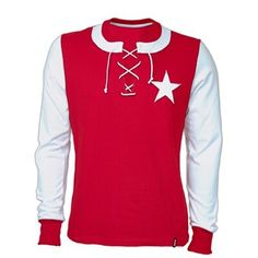 MVV Maastricht home shirt for Classic Football Shirts, Retro Shirts, Soccer Shirts, Shirt Price, Tees, Mens Tops, Stuff To Buy, 1950s, Sport
