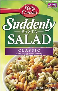 I buy about 4 DOZEN boxes of Suddenly Salad during the summer when they are on sale and I have coupons; then I make them throughout the year and doctor them up, sometimes with the suggestions on the box, sometimes with other ingredients.  And no, the other brands pasta mixes do not compare!