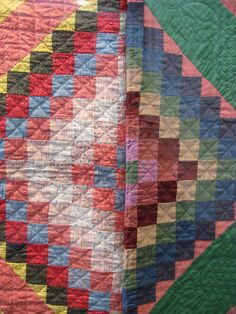 Amish quilts are so beautiful. So much work put into them.