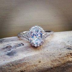 Uncommon brilliance. #BrilliantEarth #engagementring #oval #diamond #love #engagement #wedding #ido #stunning