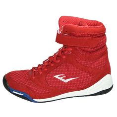 Everlast Elite Boxing Shoes - Red