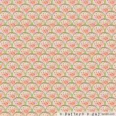 watermelon scallops (A Pattern a Day)