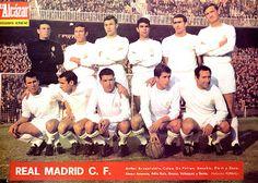 EQUIPOS DE FÚTBOL: REAL MADRID Campeón de Liga 1966-67